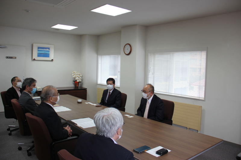 JICA北海道センター長が来学されました