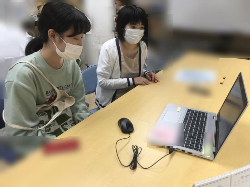 2021年度後学期「留学生とチューターのオンライン顔合わせ」