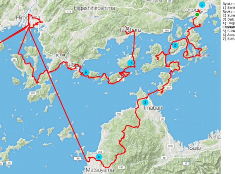 Bike Hiroshima Route