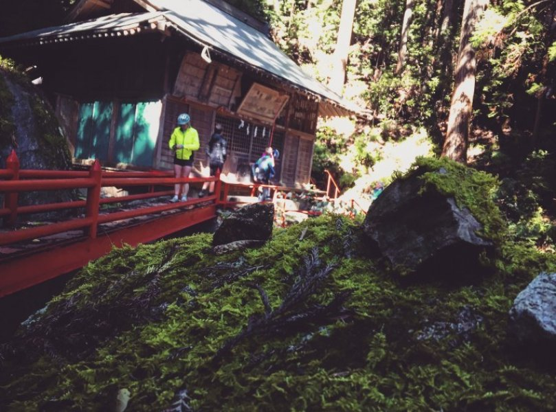 Bike Watarase River Temple