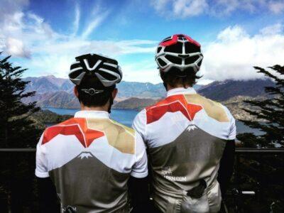 Bike North Alps Lake
