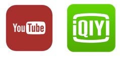 youtube/iQIYI