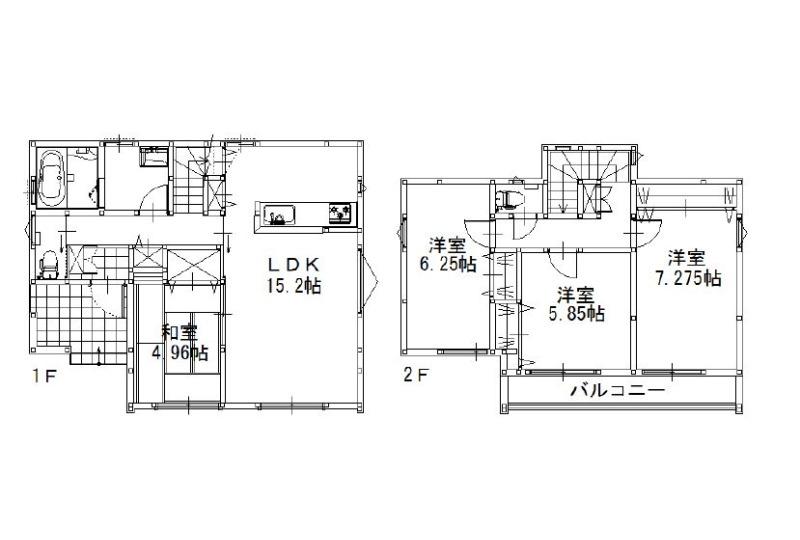 【その他】【4号地参考間取り】建物参考価格:1,435.5万円