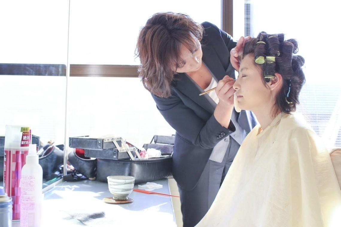 Getting ready — Photo by Sakamoto photo