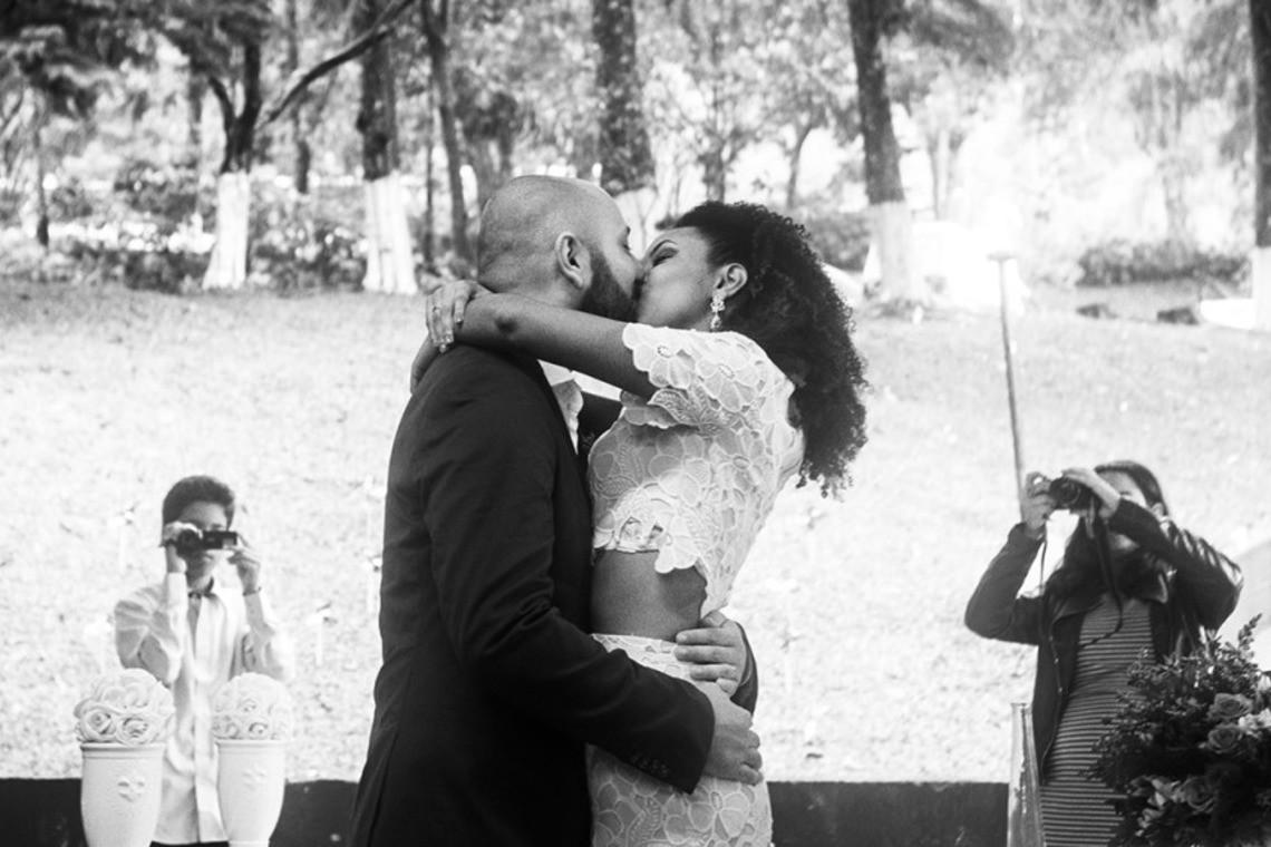 beautiful wedding in Brazil — Photo by thiago gimenes
