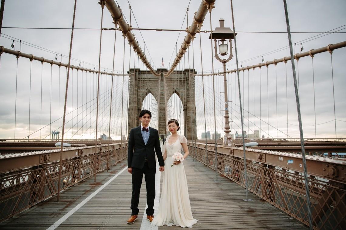 Brooklyn Bridge in New York — Photo by Ayami Photo Arts LLC