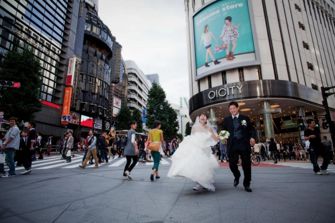 A runaway bride!
