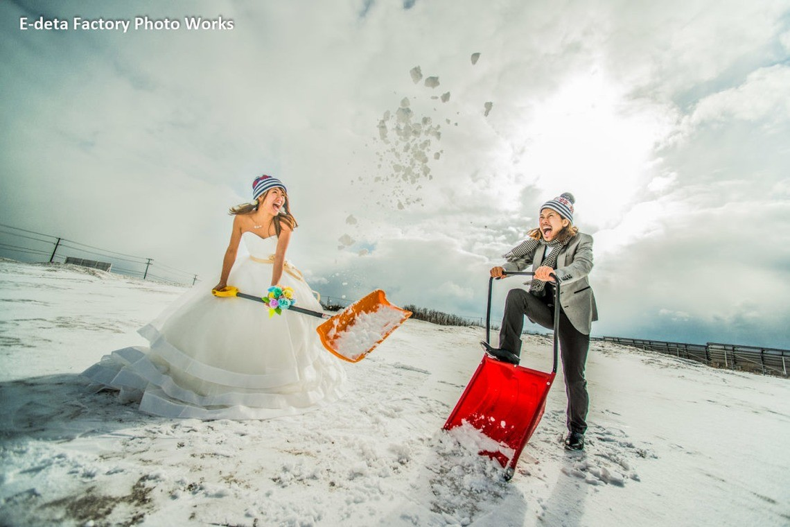 Snow fun! — Photo by E-DETA FACTORY