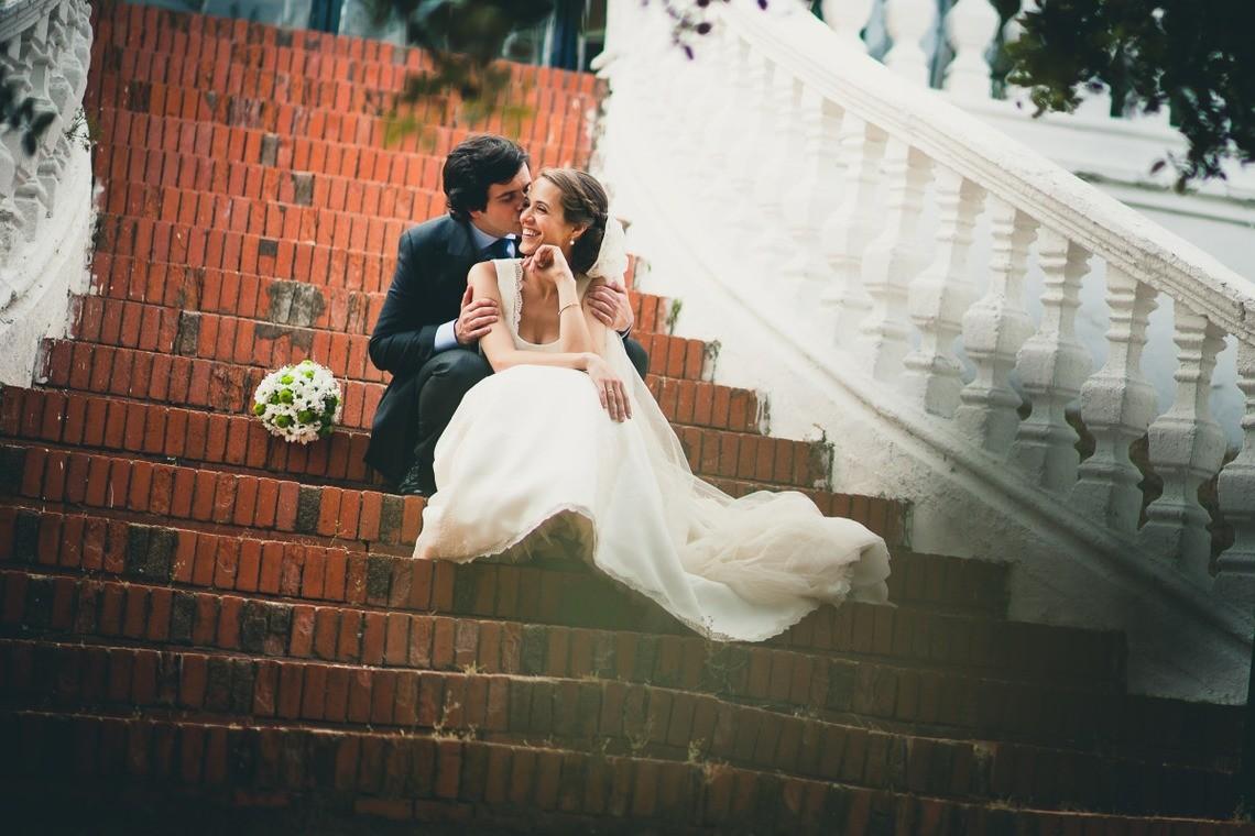 happy wedding day — Photo by Tony Romero