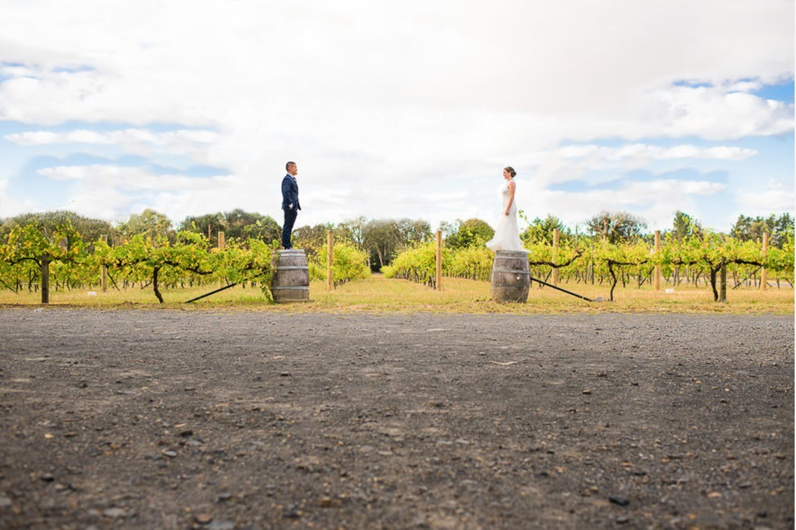 Through the hunger valley wineries in Sydney!  — Photo by Gold Hat Photography(Mark Kenji Condon)