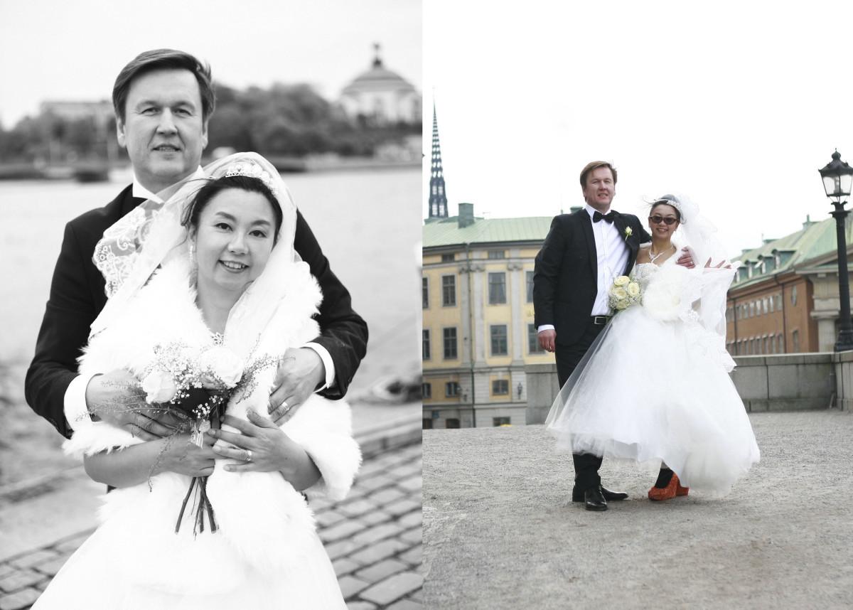 wedding in Sweden — Photo by Tanja Metelitsa
