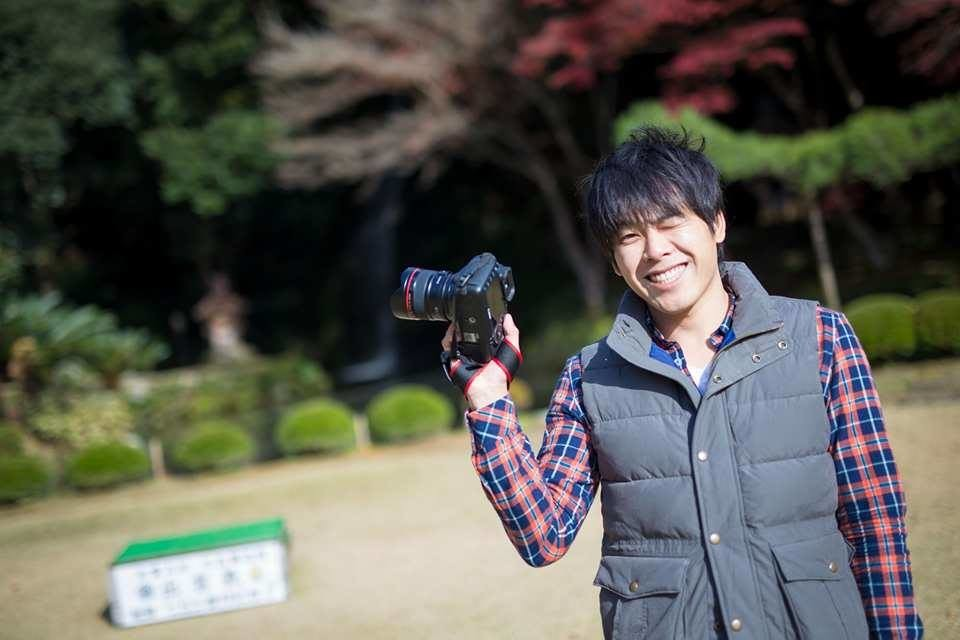 Photographer Takano Kazuki