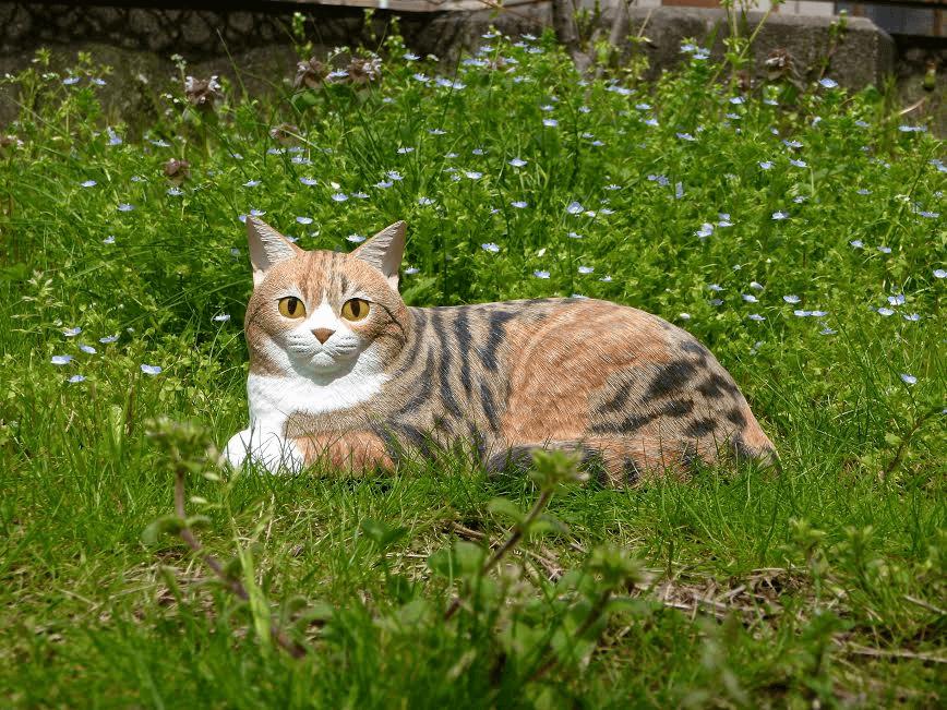 木彫りの猫ちゃん