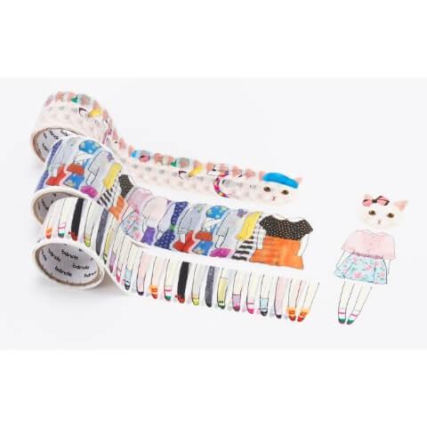 着せ替え猫ちゃんのマスキングテープ | Fanimal(ファニマル)