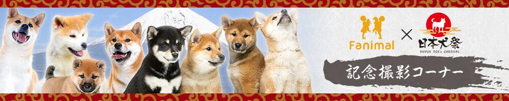 Fanimal×日本犬祭記念撮影掲載ページ