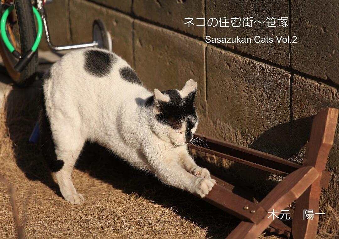 ネコの住む街・笹塚(写真展図録)