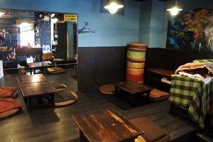 高円寺 cafe garage Dogberry