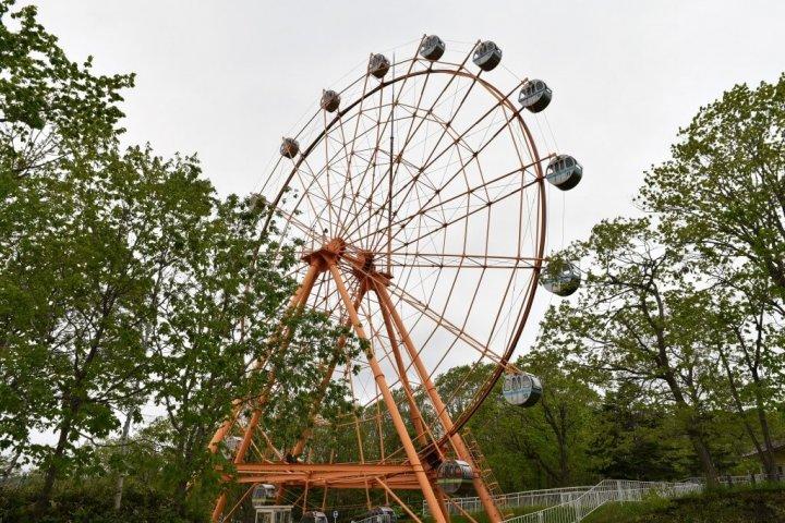 釧路市動物園 観覧車