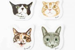 プレスリリース 3COINS「きゅんネコ」