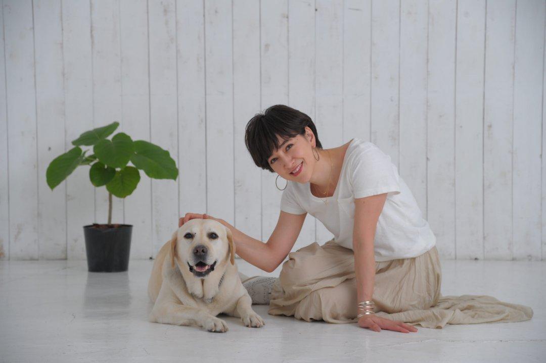 滝川クリステルさんと愛犬アリス