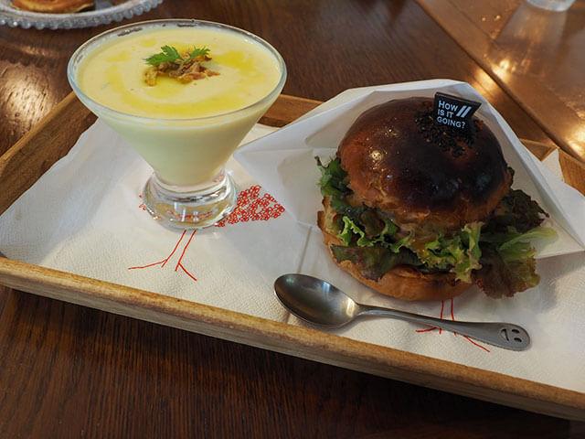 café Luハンバーガー