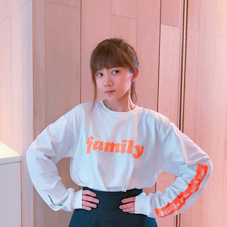familyロングスリーブTシャツ