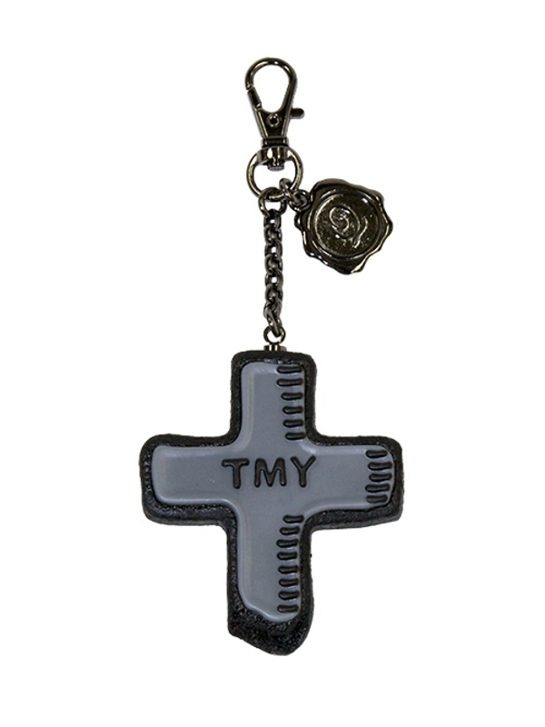 TMY Cross Sugar Cookie Bag Charm