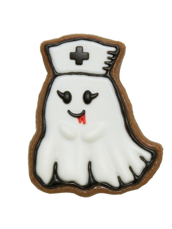 Nurse Ghost Sugar Cookie Brooch♥HEAVENLY