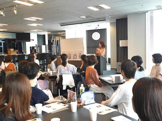 化粧品メーカー協賛・カラー診断&メイクイベント開催