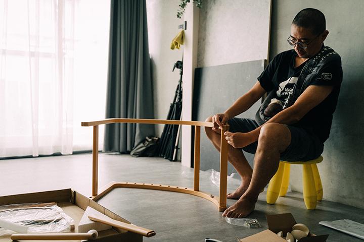宅宅太太的日常 @msninitsai | 不需其他工具組裝的farska餐椅
