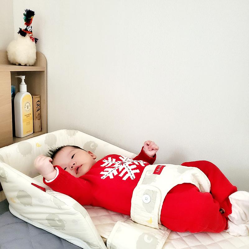 喜娜與小眼睛喔爸在韓國   farska [成長型] 安心守護多功能床中床