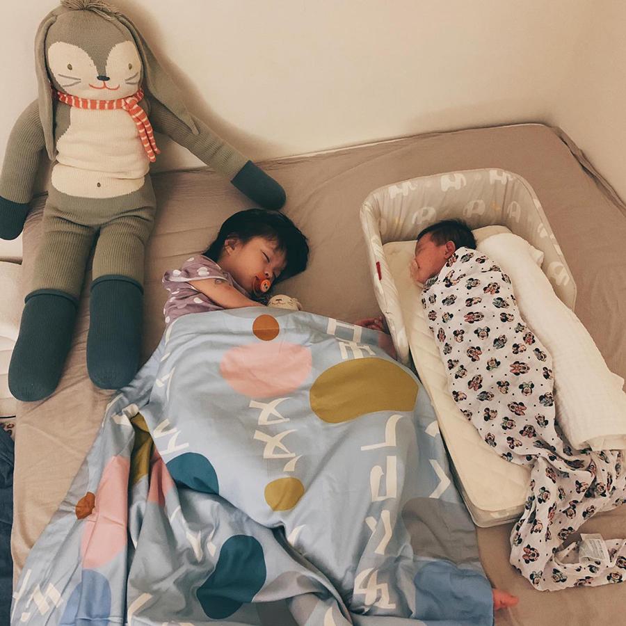知名部落客 @翻白眼太太   farska 【成長型】安心守護多功能床中床