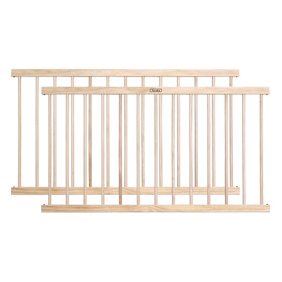 簡約木質延伸圍欄 120cm