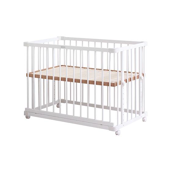 親子共寢多功能嬰兒床 │純淨白系