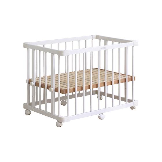 溫婉木質多功能嬰兒床│純淨白系