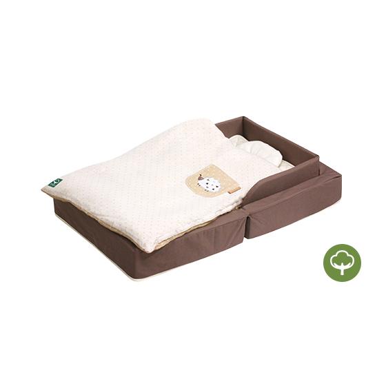 透氣好眠可攜式床墊8件組 FIT 有機棉
