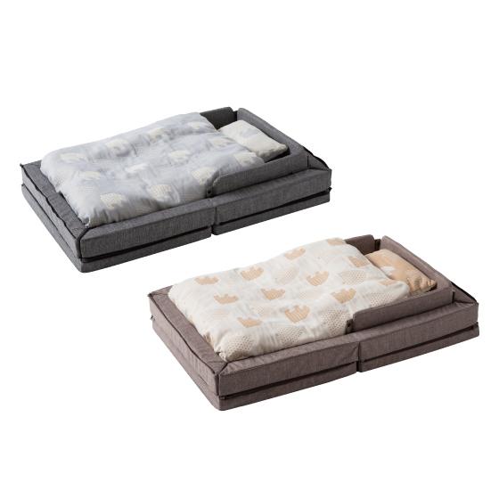 透氣好眠可攜式床墊13件組   升級版