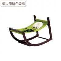 實木陪伴成長椅|黑糖可可