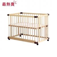 親子共寢多功能嬰兒床│大床120x70cm