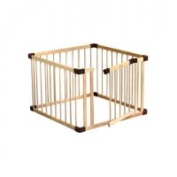 組合式實木帶門圍欄 -小