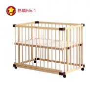 親子共寢多功能嬰兒床│大床125x75cm (附安心帶)