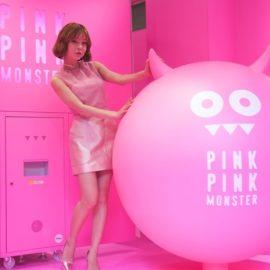 カンテリちゃんがプリクラの擬人化…?【PINK PINK MONSTER】を徹底レポ♡