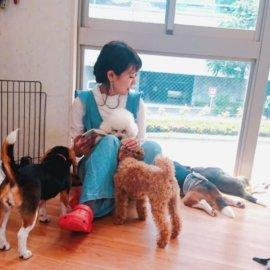 【渋谷】ふれあいもお散歩も出来ちゃう?!話題の犬カフェ『DOG HEART from アクアマリン』に潜入♡