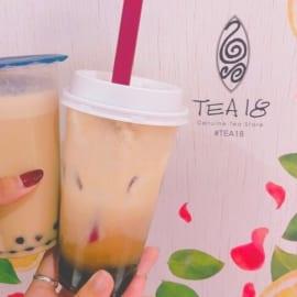 人気タピオカ店「TEA18」のおすすめ人気メニューをご紹介!【渋谷・横浜・大阪梅田】