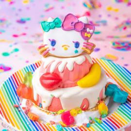 ◆原宿×KAWAII×キティのスイーツゴーランドケーキ