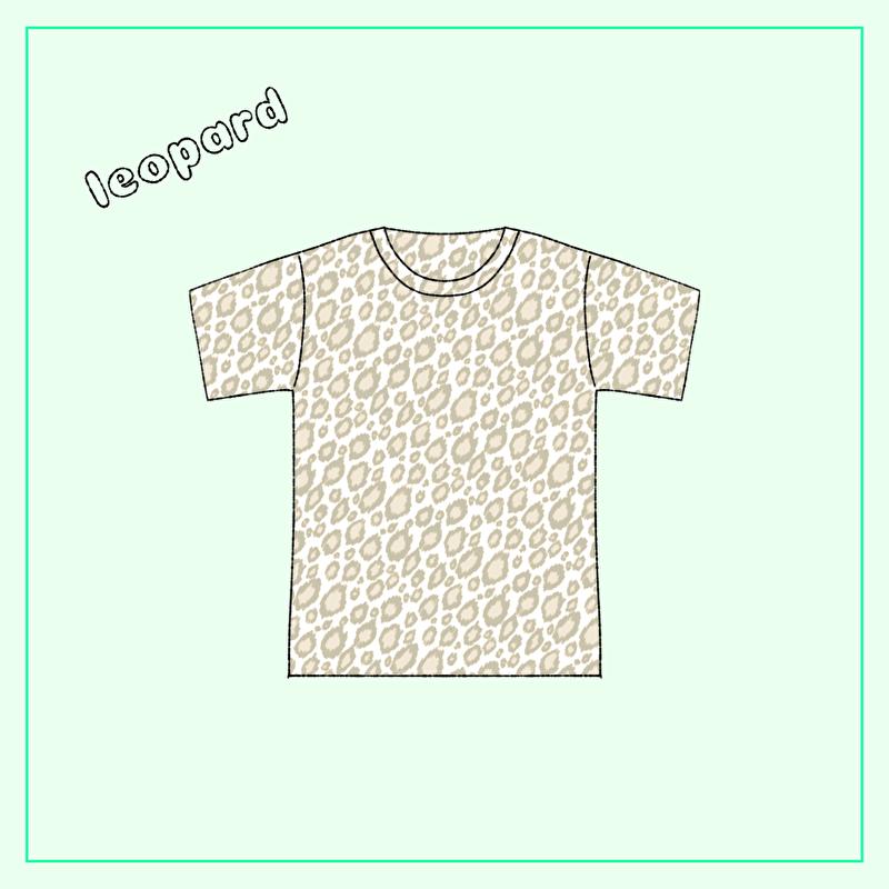 レオパード柄Tシャツ