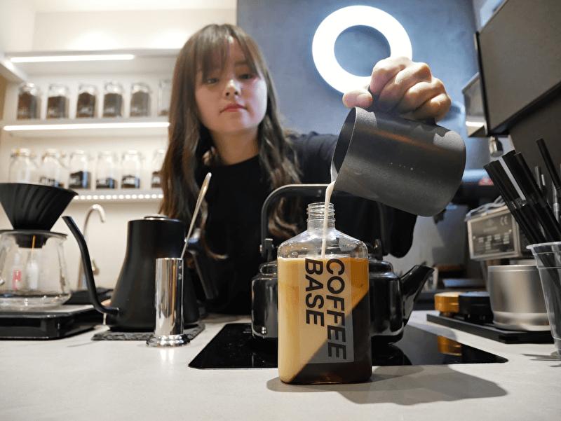 ボトルコーヒーゼリー