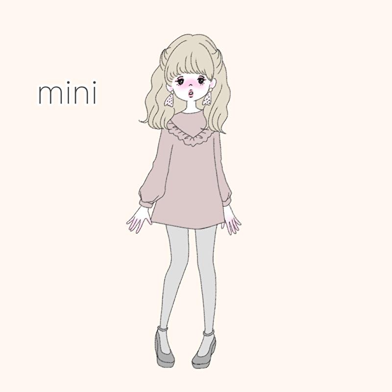 ミニワンピ