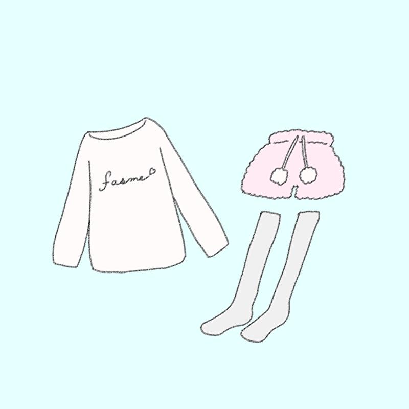 持参のパジャマ