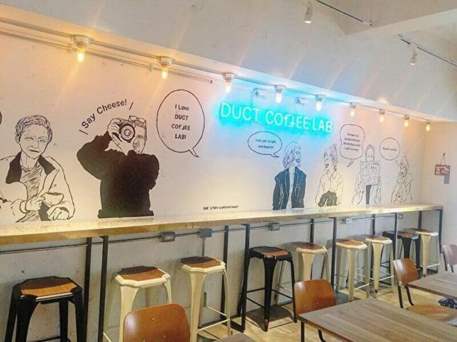代官山カフェ DUCT COFFEE LAB